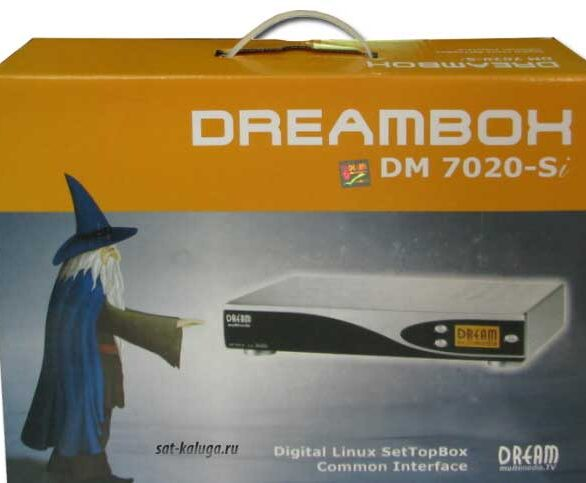dreambox 7020 коробка