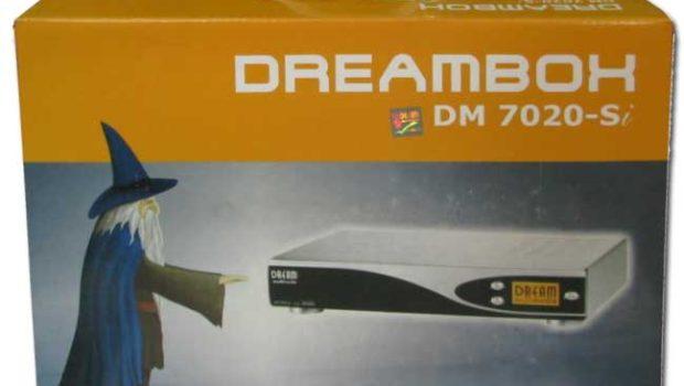 dreambox 7020 коробка